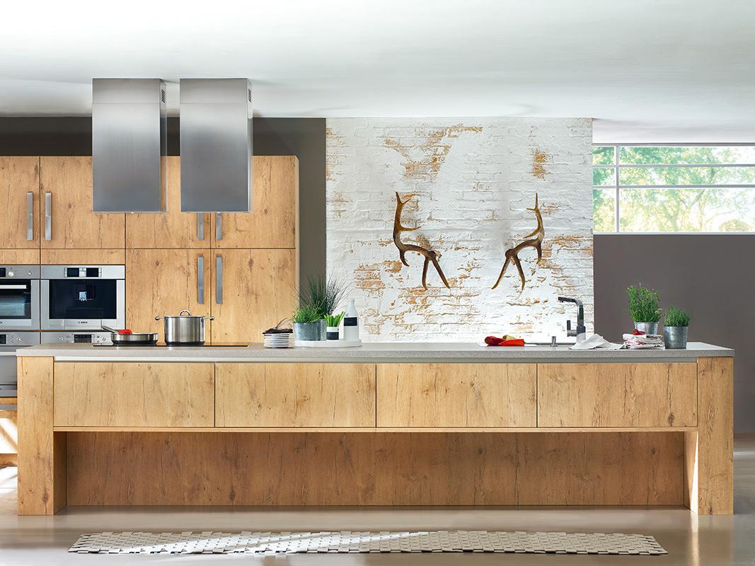 Moderne Kuchengestaltung Mit Holz Kuchen Riks In Rheine