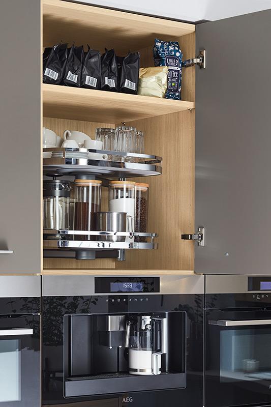 Komfort in der Küche. Küchen Riks Rheine.