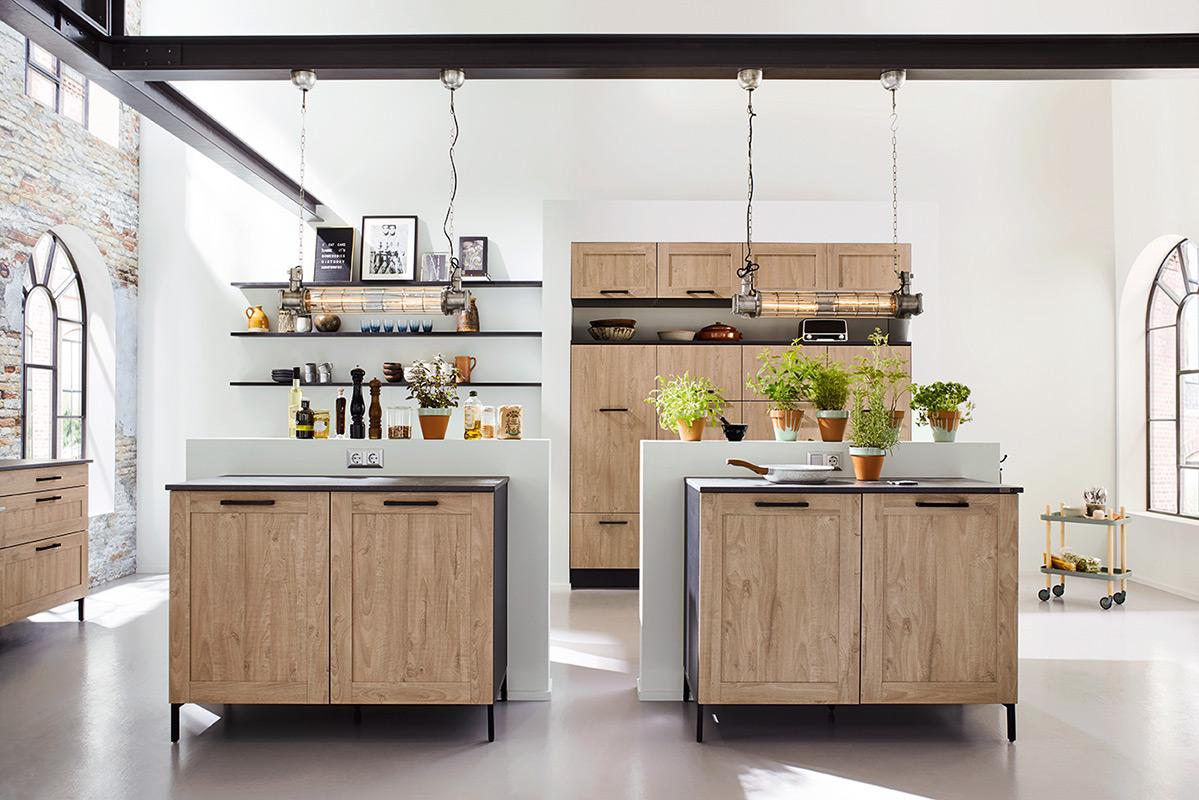 Küche im Landhaus Stil. Küchen Riks Rheine.