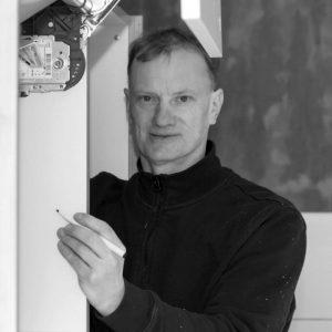 Tischlermeister Sascha Riks.